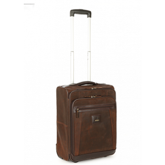 e3c9609aed40 Polo Raw Oil Skin Carry On Trolley – Handbag And Luggage